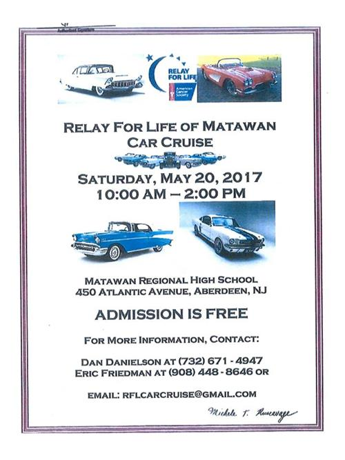 Relay for Life Car Cruise