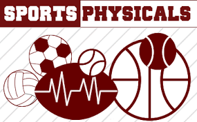 Sports Physical information for Middle/High school students in 2019-20