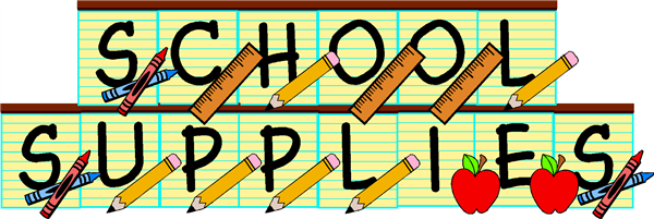 Supply Lists 2019-2020 School Year