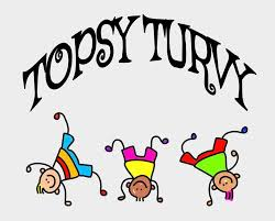 Topsy Turvey Tuesday