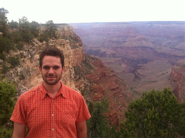 Mr. Pruitt at the Grand Canyon