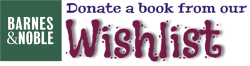 Donate a book to our new library!